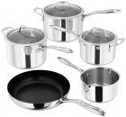 Stellar James Martin Cookware 5 Piece Pan Set